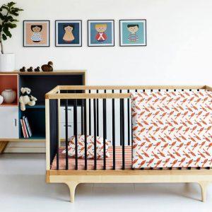 Купить Птички Оранжевые Cosas постельное белье детское