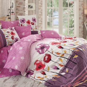 Купить Amanda v2 Lila Majoli Bahar tekstil постельное белье