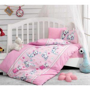 Купить Miyav Pembe Cotton Box постельное белье