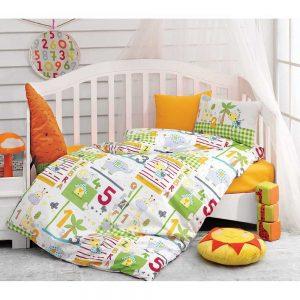 Купить Safari Oranj Cotton Box постельное белье