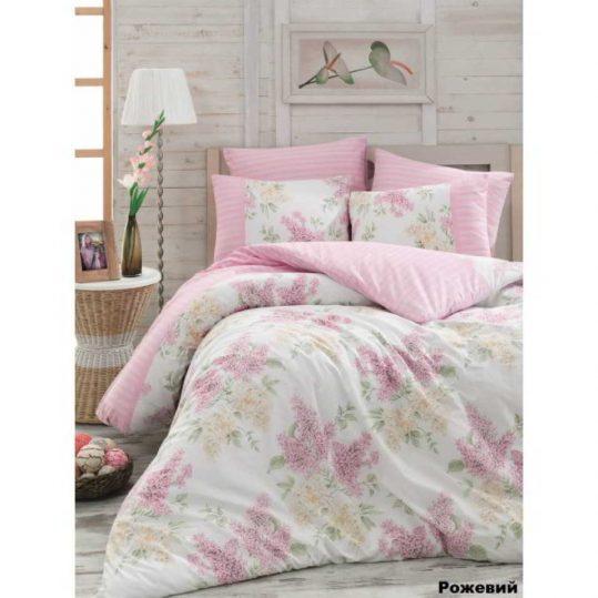 Купить Alacati розовый Arya постельное белье