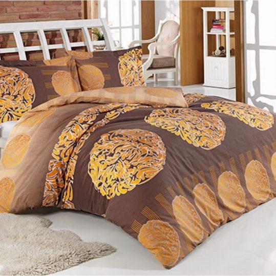 Купить Anemon коричневый Arya постельное белье