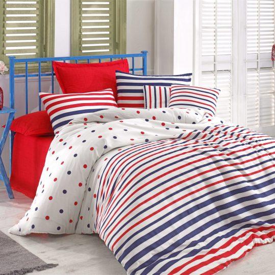 Купить Clup Lacivert Eponj Home постельное белье