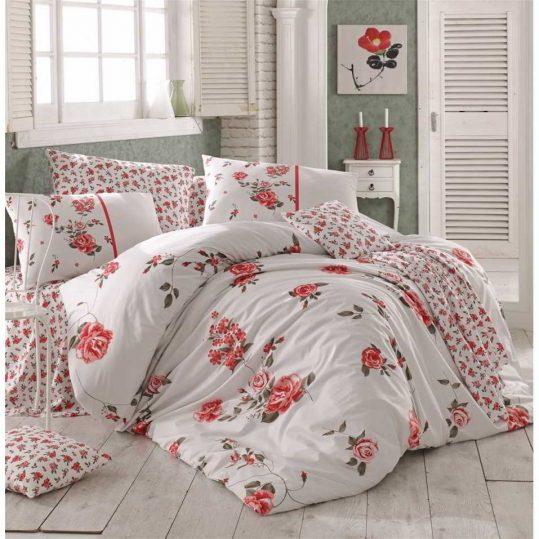 Купить Jasmine красный Arya постельное белье