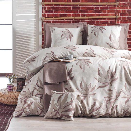 Купить Kehribar Sutlu Kahve Eponj Home постельное белье