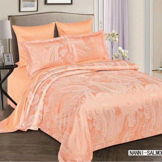 Купить Nanni персиковый Arya постельное белье