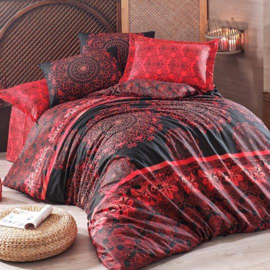 Купить Sehri-ala Kirmizi Eponj Home постельное белье