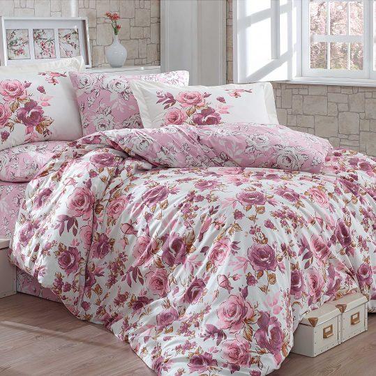 Купить Alessia темно-розовый Hobby постельное белье