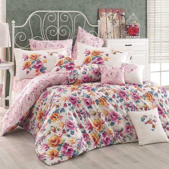 Купить Alessia розовый Hobby постельное белье