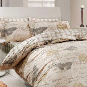 Купить Ancelika кремовый Hobby постельное белье