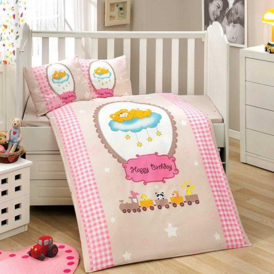 Купить Bambam розовый Sateen Hobby постельное белье