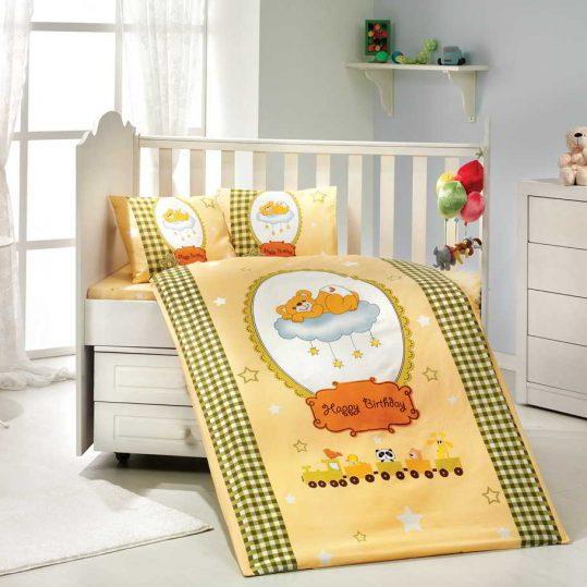 Купить Bambam желтый Sateen Hobby постельное белье