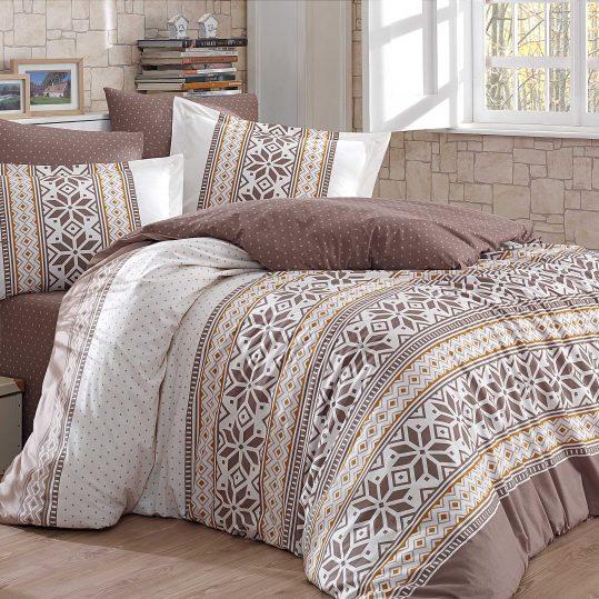 Купить Carla коричневый Hobby постельное белье