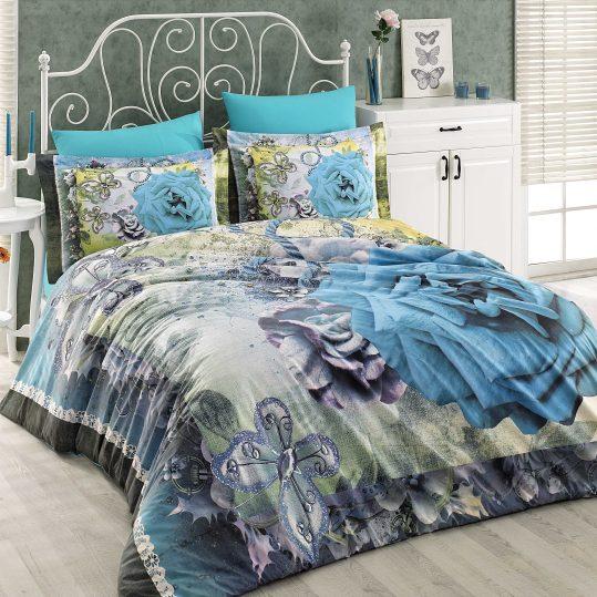 Купить Cristina голубой Hobby 3D постельное белье