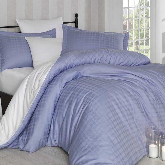 Купить Ekose голубой/кремовый Exclusive Sateen Diamond Hobby постельное белье