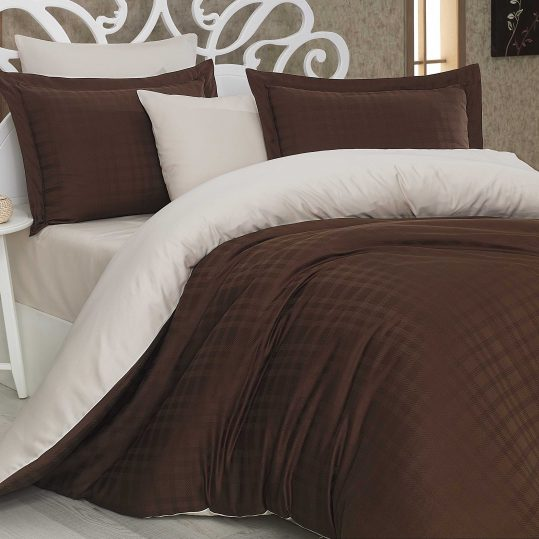 Купить Ekose коричневый/кремовый Exclusive Sateen Diamond Hobby постельное белье