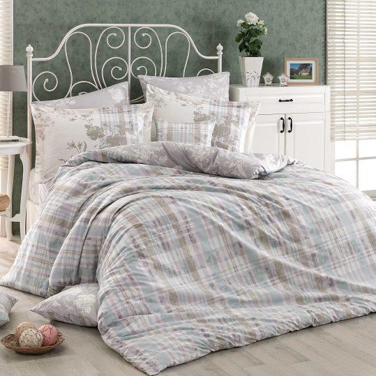 Купить Elenora серый Hobby постельное белье