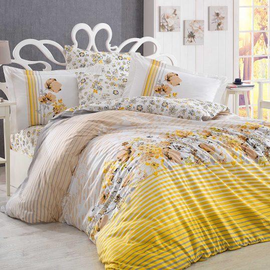 Купить Fiesta желтый Hobby постельное белье