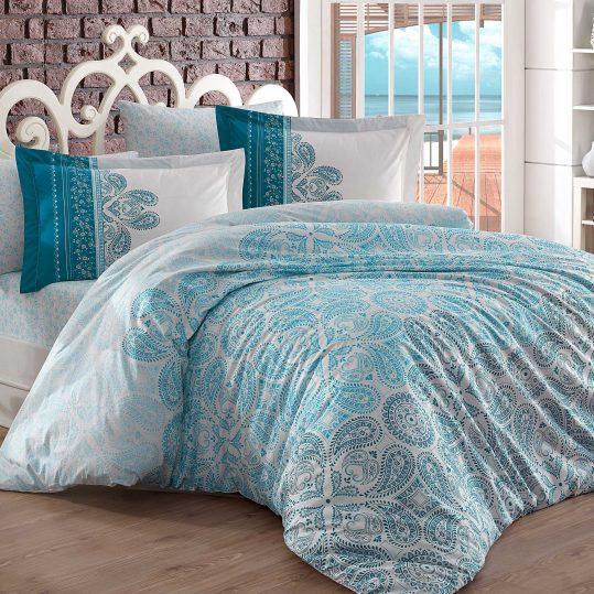 Купить Irene голубой Hobby постельное белье