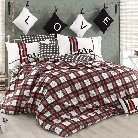 Купить Love Code красный Hobby постельное белье