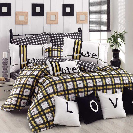 Купить Love Code желтый Hobby постельное белье