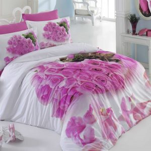Купить Love Story Hobby 3D постельное белье