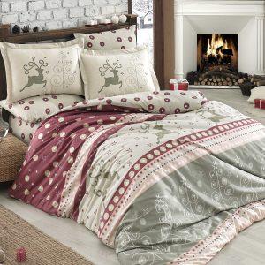 Купить Ludovica бордовый Hobby постельное белье