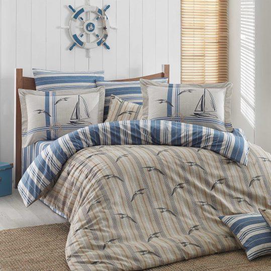 Купить Marinella синий Hobby постельное белье