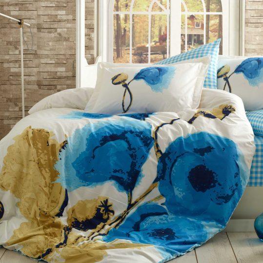 Купить Miray голубой Hobby постельное белье