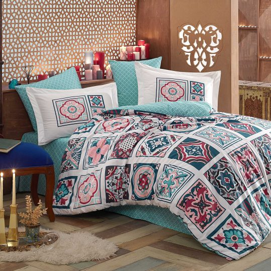 Купить Mozaique голубой Hobby постельное белье