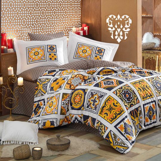 Купить Mozaique желтый Hobby постельное белье