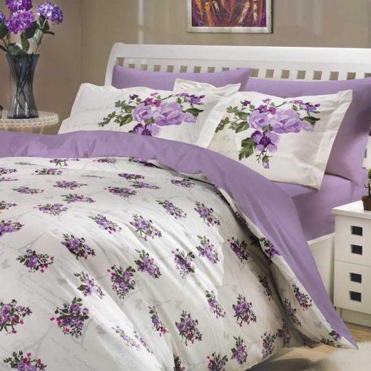 Купить Paris Spring фиолетовый Hobby постельное белье