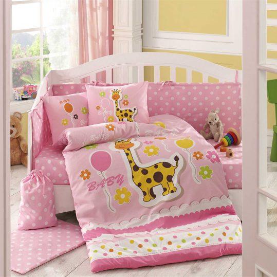 Купить Puffy розовый Sateen Hobby постельное белье