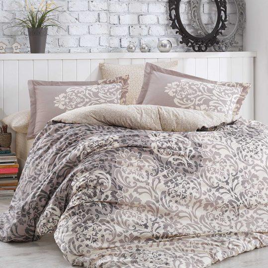 Купить Serenity серый Hobby постельное белье