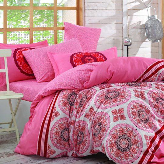 Купить Silvana розовый Hobby постельное белье