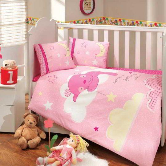Купить Sleeper розовый Sateen Hobby постельное белье