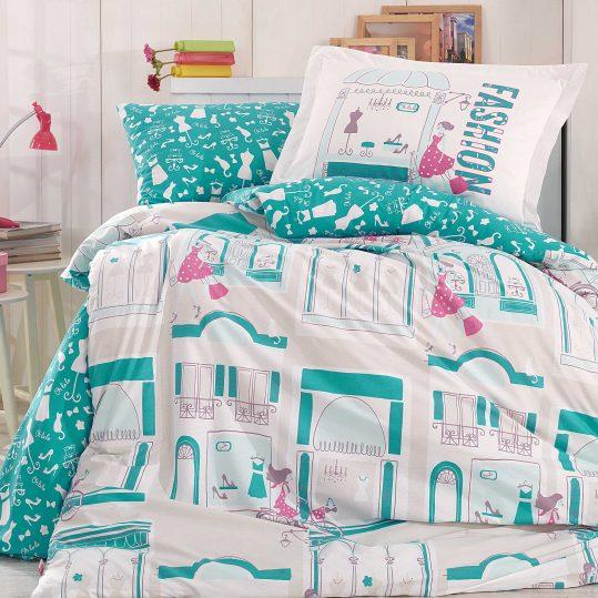 Купить Sonia голубой Hobby постельное белье