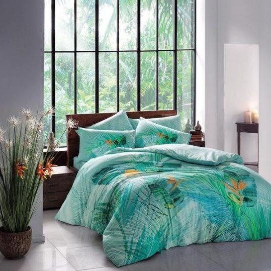 Купить Bahama V01 Mavi TAC постельное белье