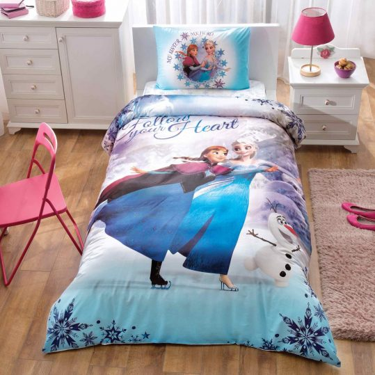 Купить Frozen My Hero Disney TAC детское постельное белье