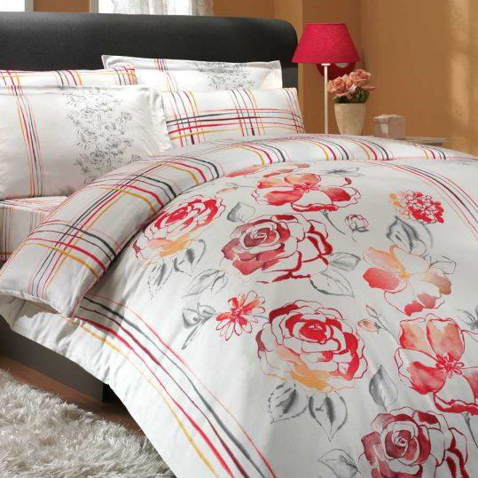 Купить Arabella красный Exclusive Sateen Hobby постельное белье