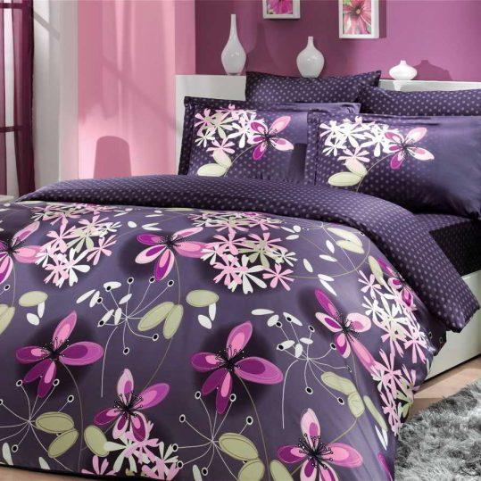 Купить Chichek фиолетовый Exclusive Sateen Hobby постельное белье