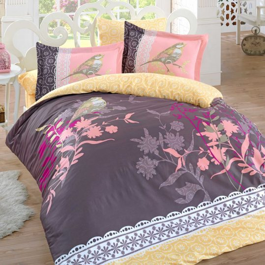 Купить Emilia коричневый Exclusive Sateen Hobby постельное белье