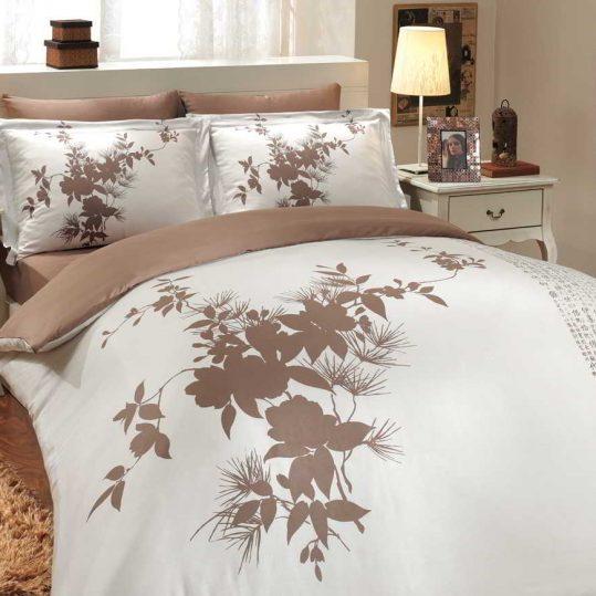 Купить Estate коричневый Exclusive Sateen Hobby постельное белье