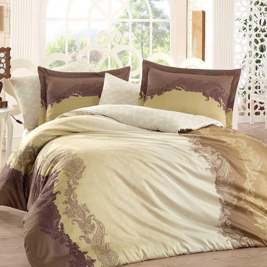 Купить Filomena коричневый Exclusive Sateen Hobby постельное белье