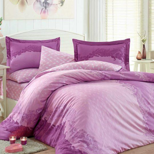 Купить Filomena фиолетовый Exclusive Sateen Hobby постельное белье