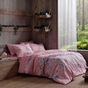 Купить Fleur v02 Pembe TAC постельное белье