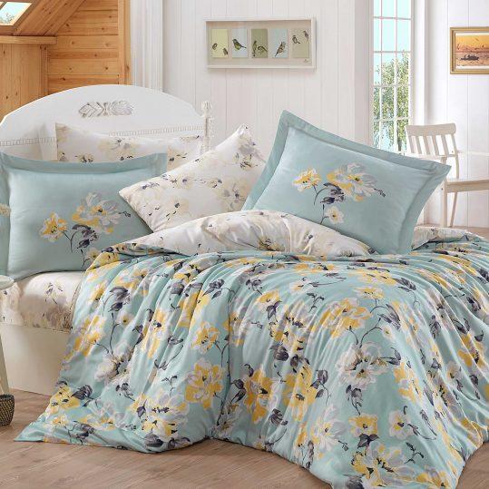 Купить Lavida светло-зеленый Exclusive Sateen Hobby постельное белье