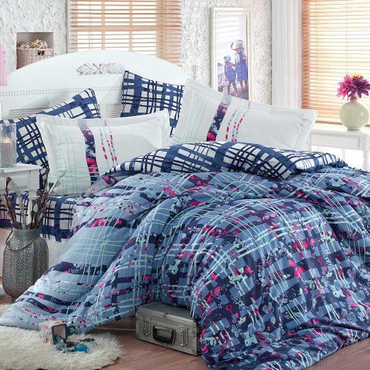 Купить Lorenza голубой Exclusive Sateen Hobby постельное белье