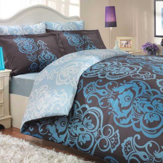Купить Monart голубой Exclusive Sateen Hobby постельное белье