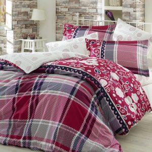 Купить Monica бордовый Exclusive Sateen Hobby постельное белье